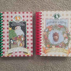Gooseberry Patch Holiday Christmas Cookbooks
